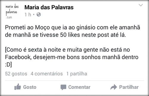 Facebook - Maria das Palavras