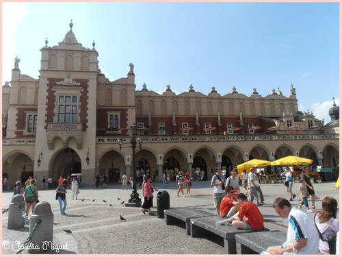 antigo mercado de tecidos Cracóvia