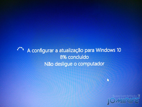 Configurar a atualização para Windows 10 [en] Configure the update for Windows 10