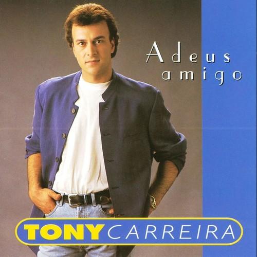 Capa do CD Adeus Amigo de 1994 do Tony Carreira