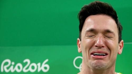 Emoção de Diego Hypólito
