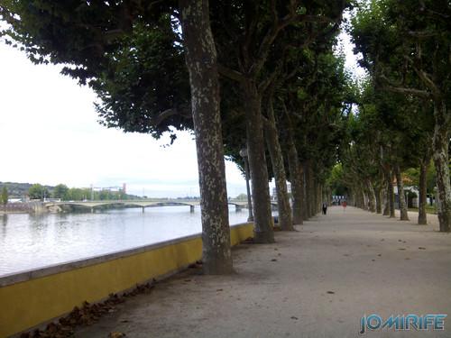 Parque verde do Mondego junto do Rio Mondego em Coimbra [en] Mondego Green park along the Mondego River in Coimbra Portugal