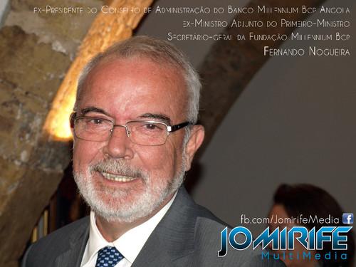 Fernando Nogueira, Secretário-geral da Fundação Millennium Bcp, ex-Ministro Adjunto do Primeiro-Ministro, ex-Presidente do Conselho de Administração do Banco Millennium Bcp Angola