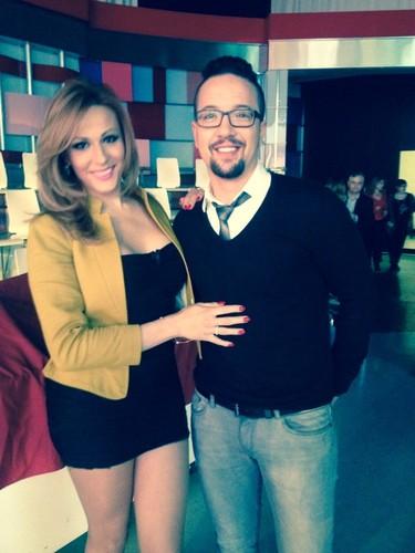 Sarah Inês Moreira com Lourenço Cunha
