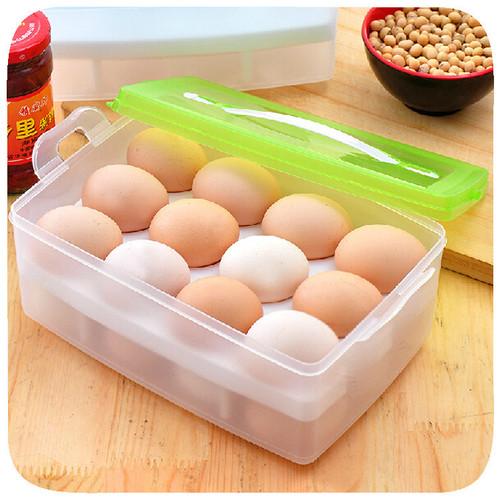 Duplo-ovo-geladeira-nítidas-caixa-de-armaze