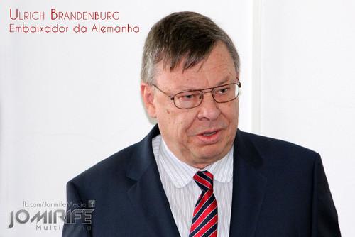 Ulrich Brandenburg, Embaixador da Alemanha [en] Ulrich Brandenburg, German Ambassador