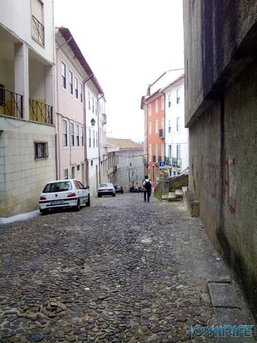 Rua da Couraça Lisboa em Coimbra [en] Couraça Lisboa street in Coimbra Portugal