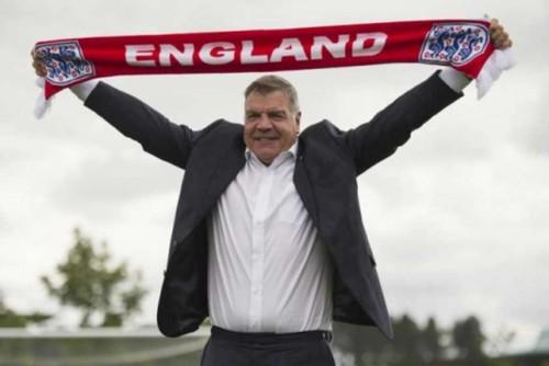 Sam Allardyce é o novo selecionador inglês