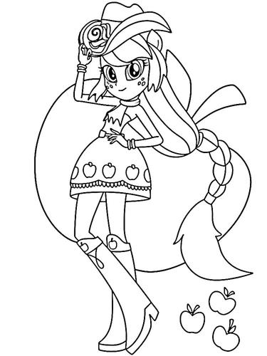 desenhos para colorir esquestria girl3.png