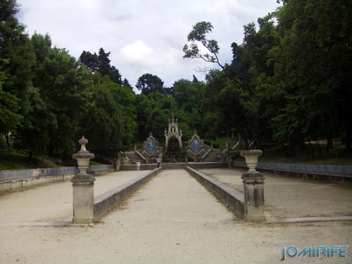 Jardim da Sereia - Parque de Santa Cruz na Praça da República em Coimbra [en] Mermaid Garden - Santa Cruz Park at the Republic Square in Coimbra Portugal