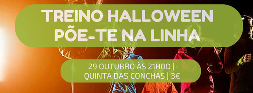 29 OUTUBRO ÀS 21H00 - QUINTA DAS CONCHAS - 3€.p
