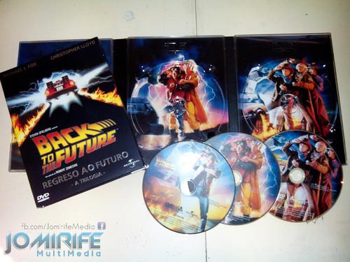 Trilogia do Regresso ao futuro em DVD [en] Back to the Future trilogy on DVD