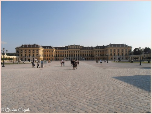 Palácio e jardins de Schonbrunn
