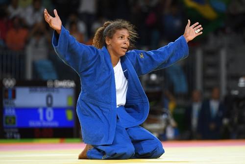 Rafaela Silva nos Jogos Olímpicos