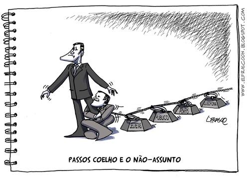 L.FRASCO+cartoon_Passos Coelho Relvas não-assunto