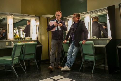 UniversalDirector Danny Boyle (left) with screenwr