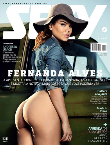 Fernanda Alves capa