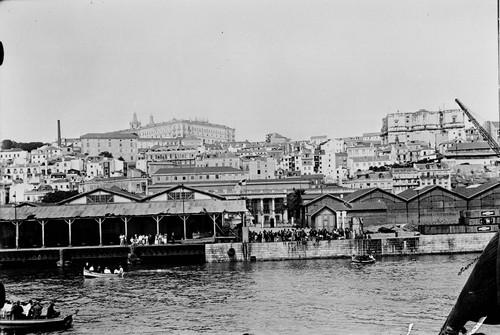 Cais Gare Maritima, 1939, por Eduardo Portugal