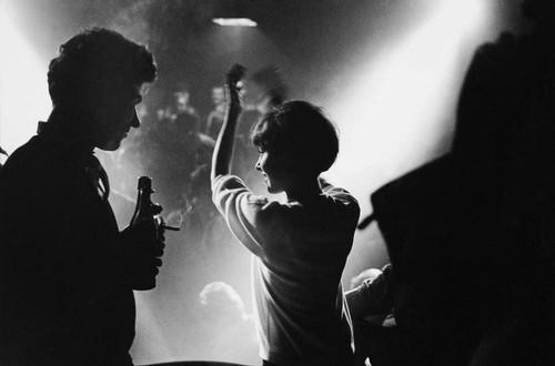 z_by Leonard Freed_Night Club, Frankfurt, West Ger