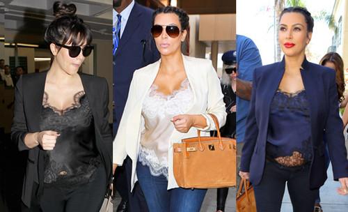 Kim-Kardashian-rocked-this-silk-lingerie-inspired-