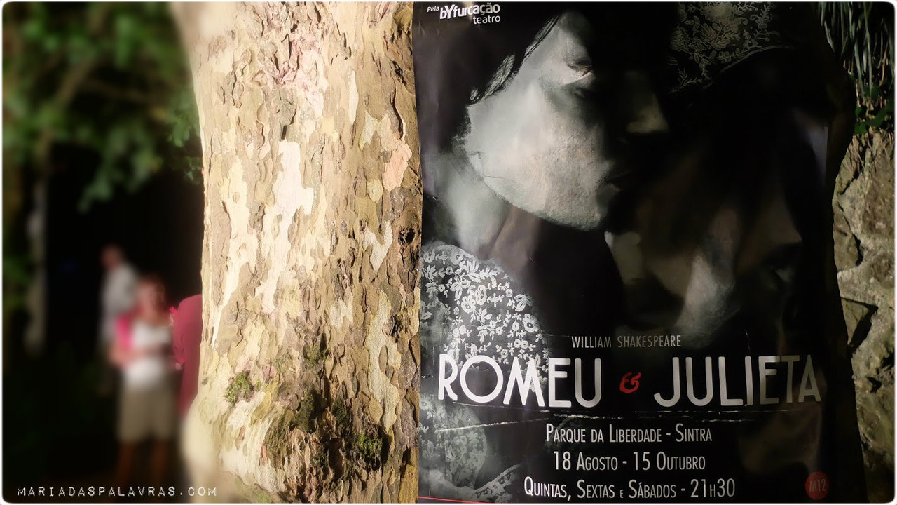 Cartaz Romeu e Julieta