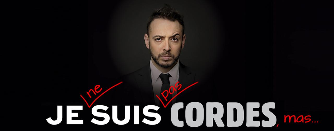 Je ne suis pas Cordes, mas...