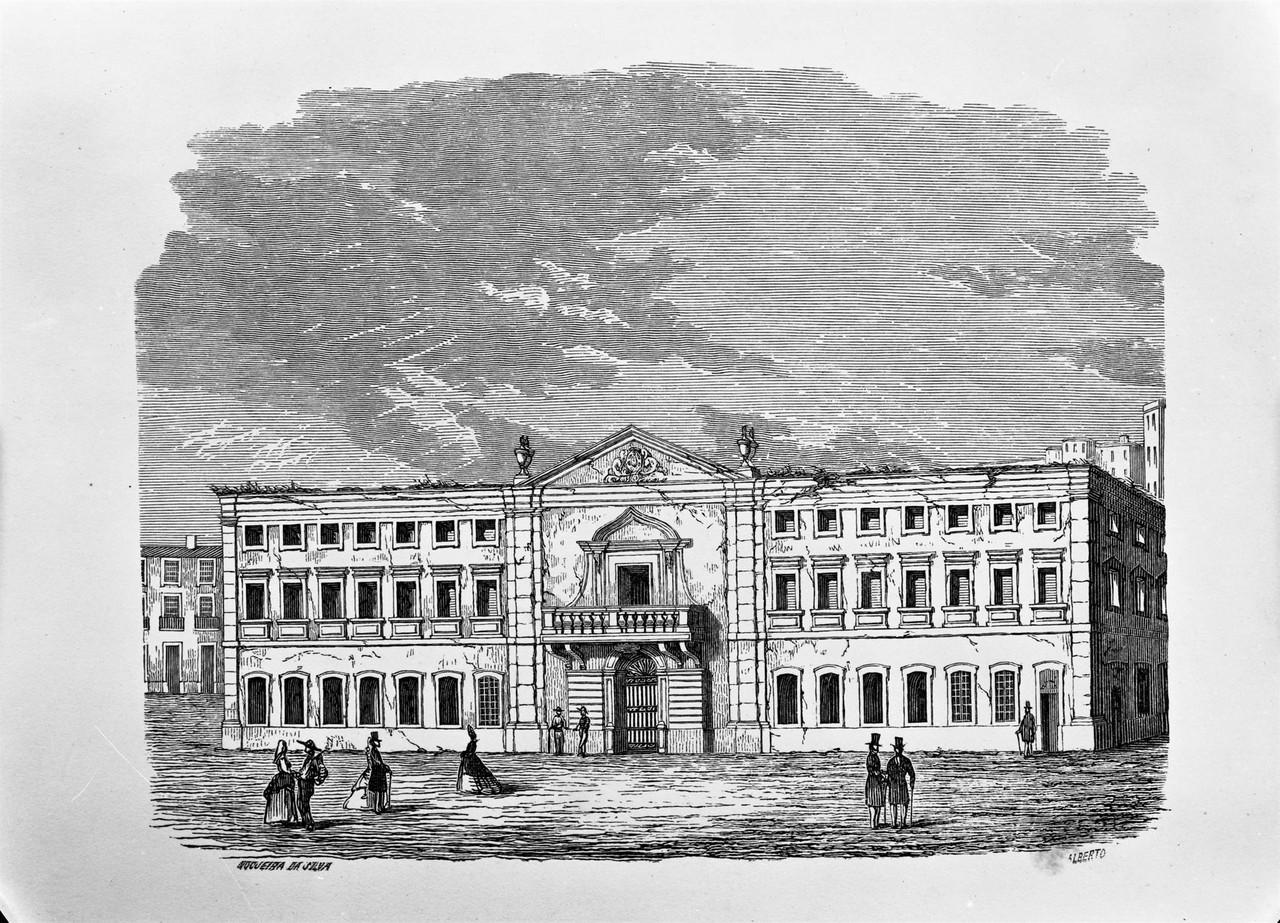 Palácio da Inquisição no Rossio, foto de estúd