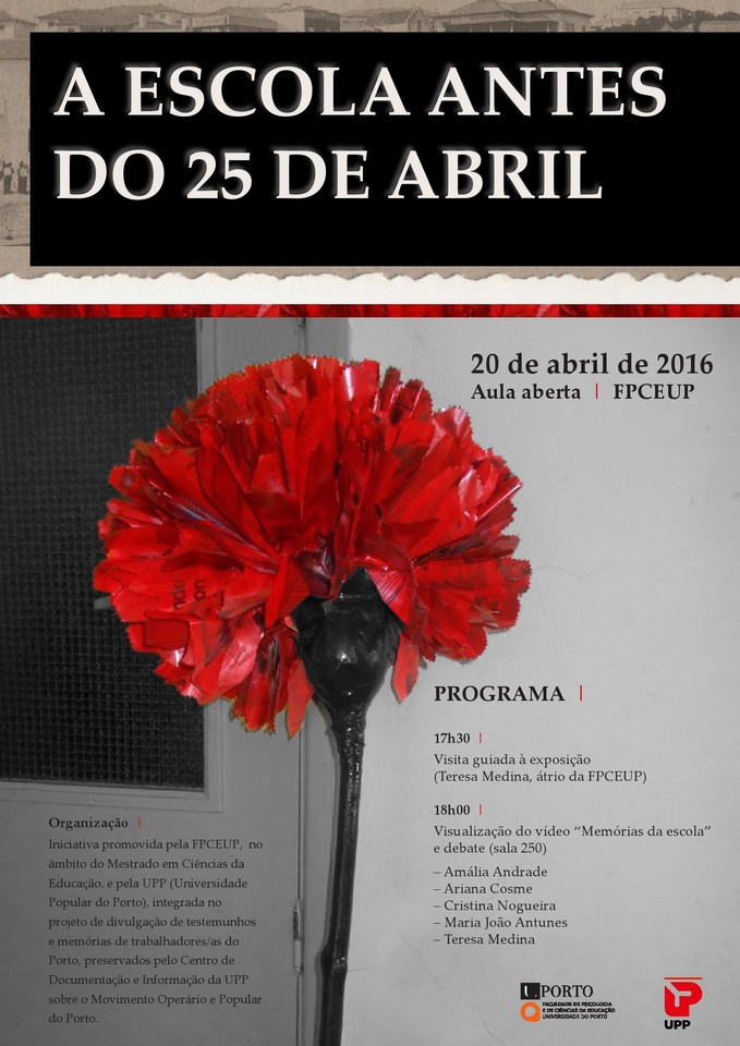 UPP Escola antes 25 Abril