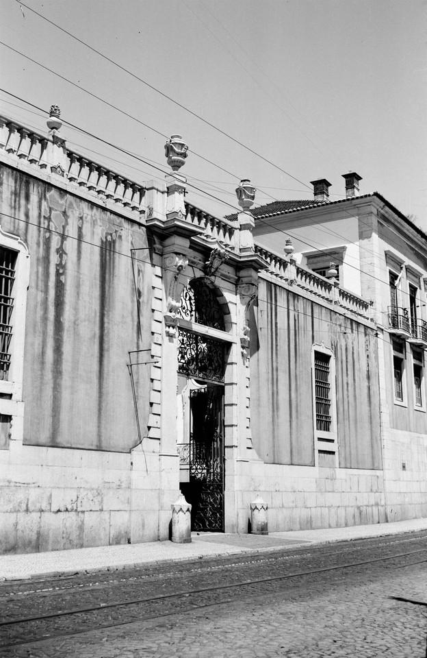 Palácio da Mitra, pórtico, 1945, foto de Mário
