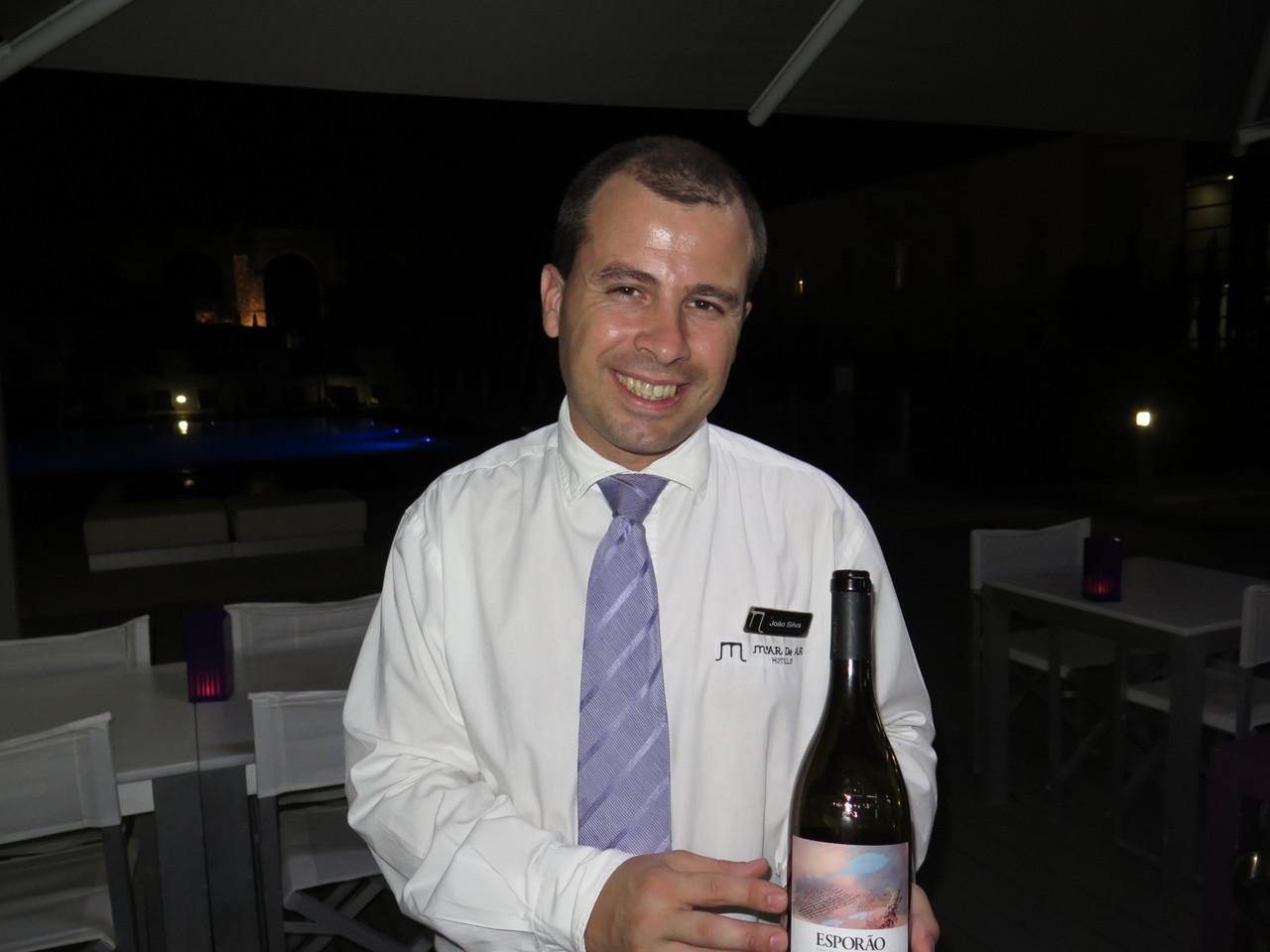 João Silva e mais um vinho alentejano