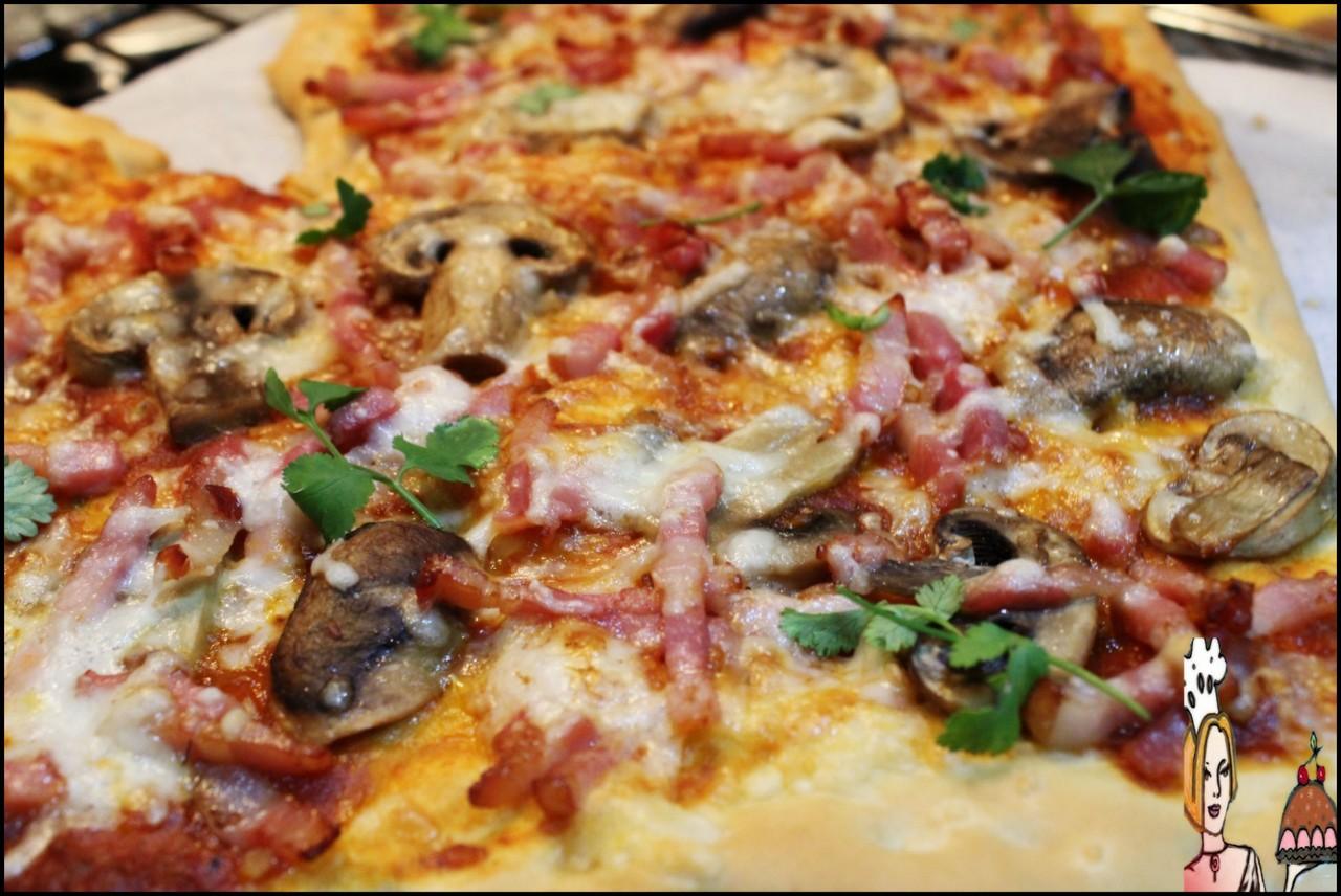 Receita de piza para o dia dos namorados