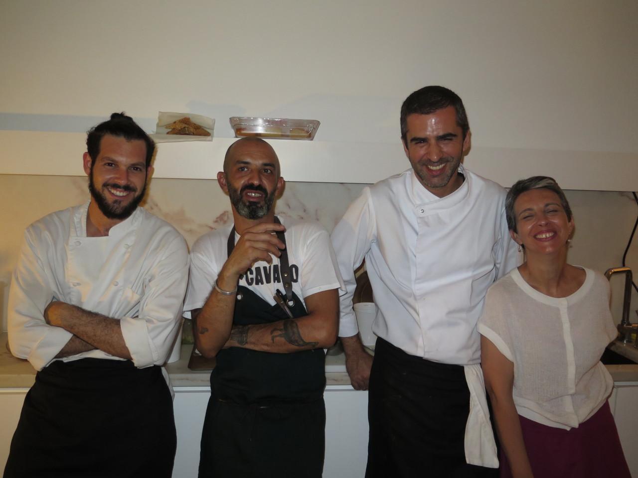 Olavo Silva, Hugo Brito, Tiago Feio, Ana Cachaço