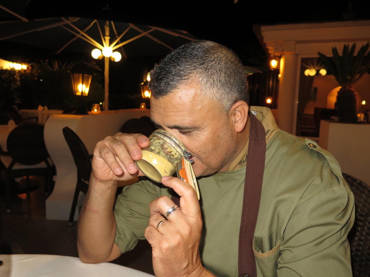 Leonel Pereira... e o pó das cascas de tangerina!