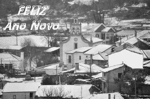 Águas Frias -neve A feliz ano novo- Orlando Lopes