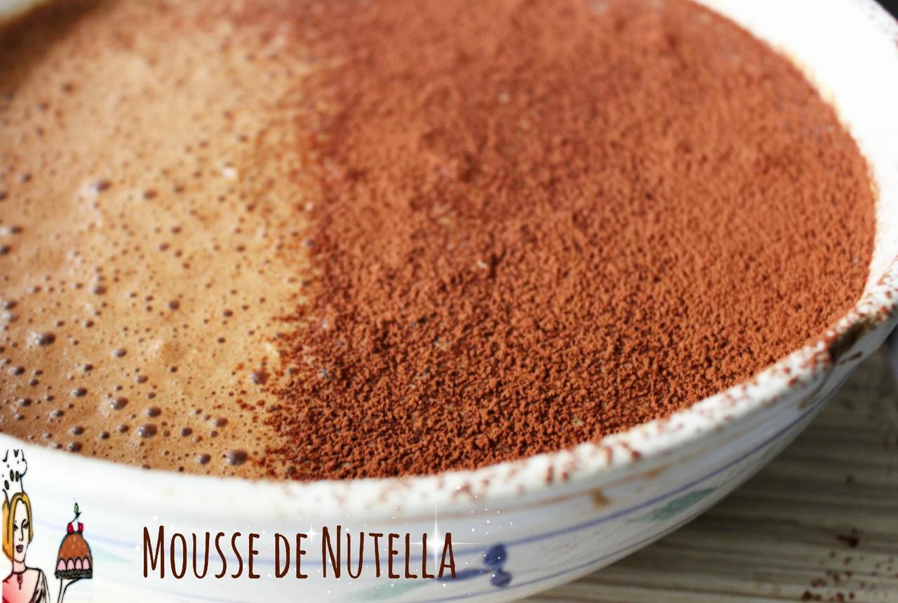 Mousse de Nutella
