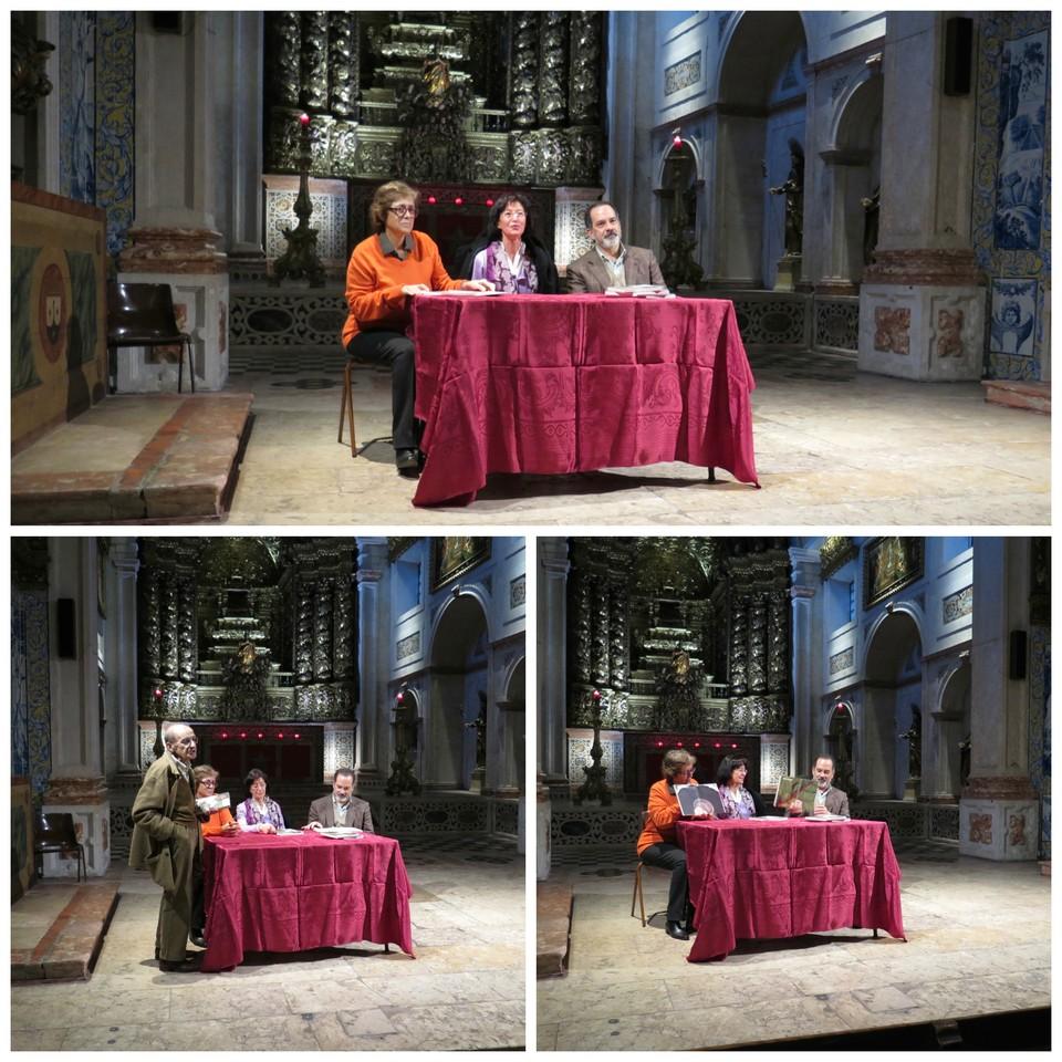 No Convento dos Cardaes: Graça Sá-Fernandes, Ana Paula Moreira, Luís Nazaré Gomes, Jorge Barros