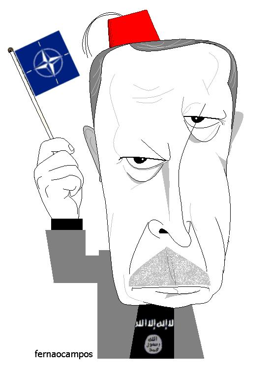Recep Tayyip Erdoğan_caricatura