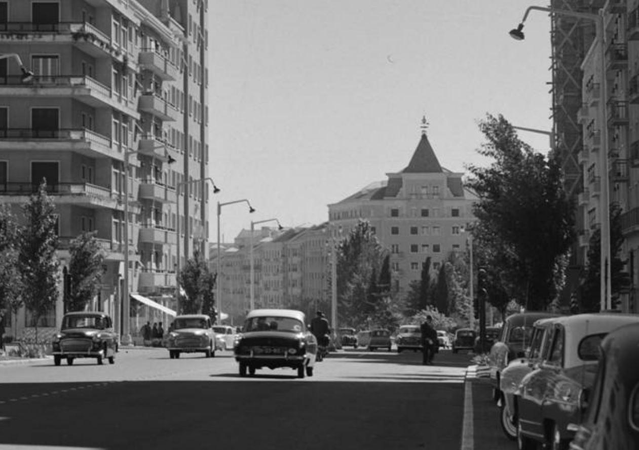 Av. de Roma, Lisboa (S.A., Fernandes, post 1958)