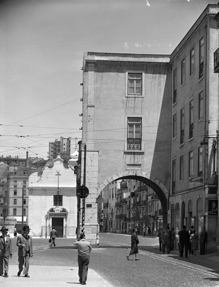 Arco do Marquês de Alegrete, 1959, foto de Armand