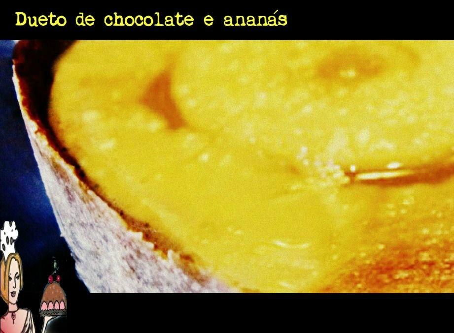 Dueto de chocolate e limão