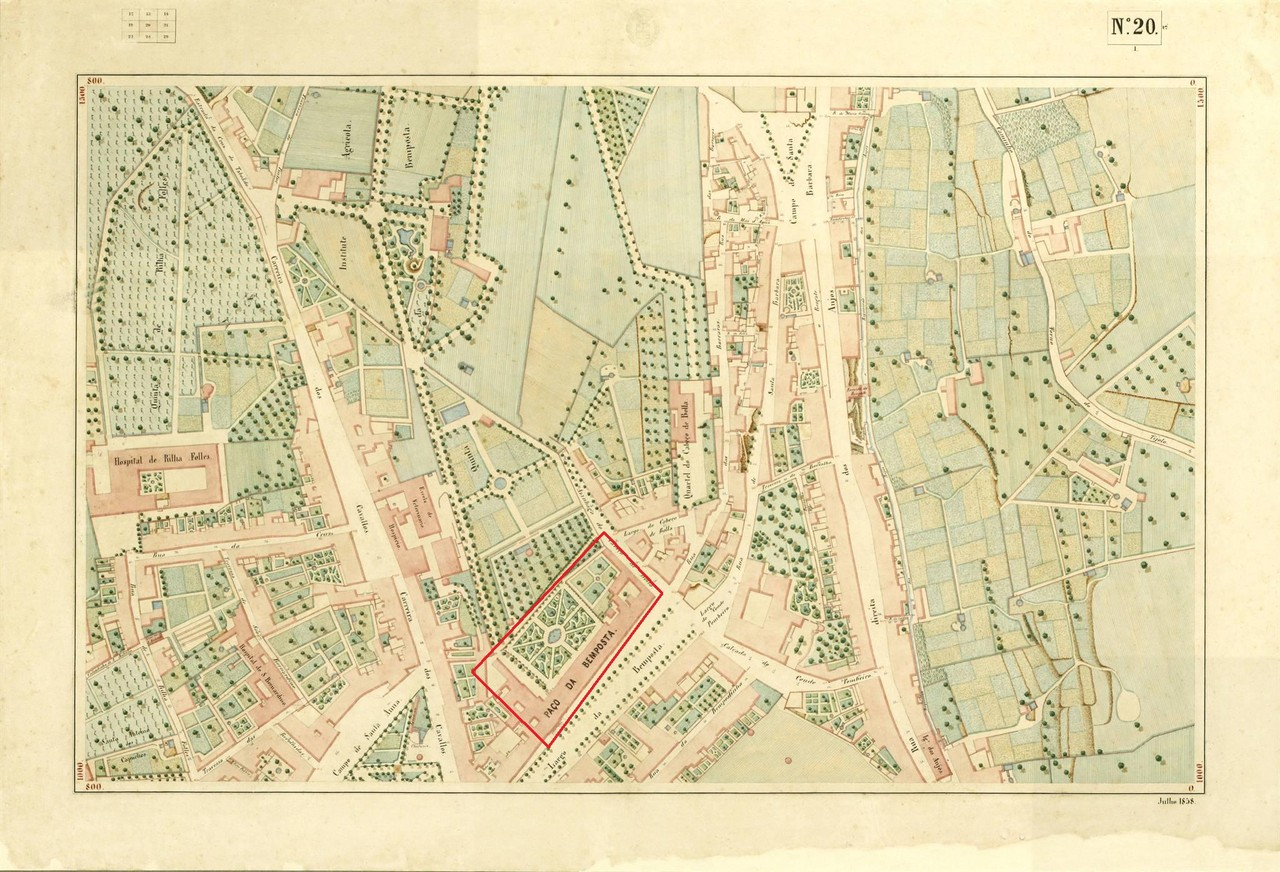 Atlas da carta topográfica de Lisboa, n 20, filip
