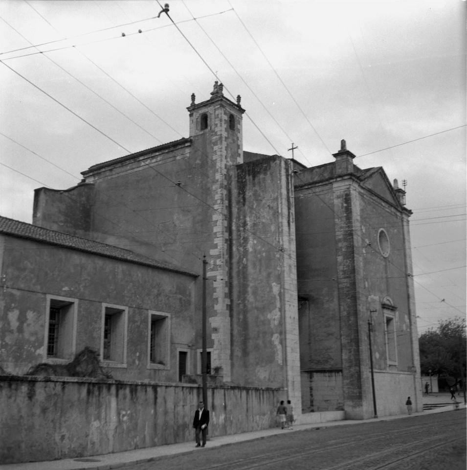 Igreja de Nossa Senhora da Luz, fachada lateral, 1