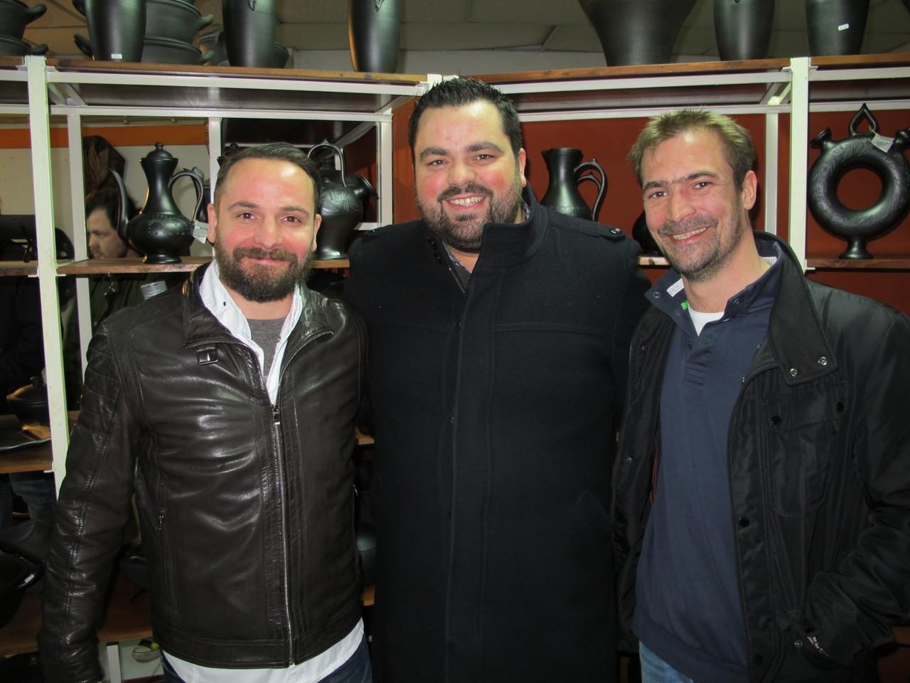 Hans Neuner, Diogo Rocha, Florian Rühlmann