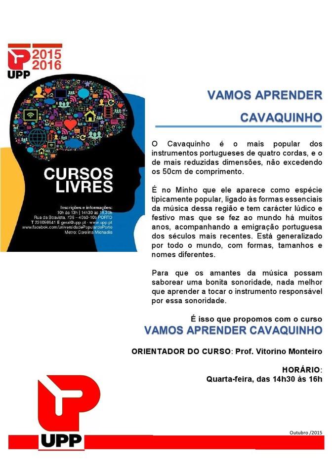UPP Cavaquinho