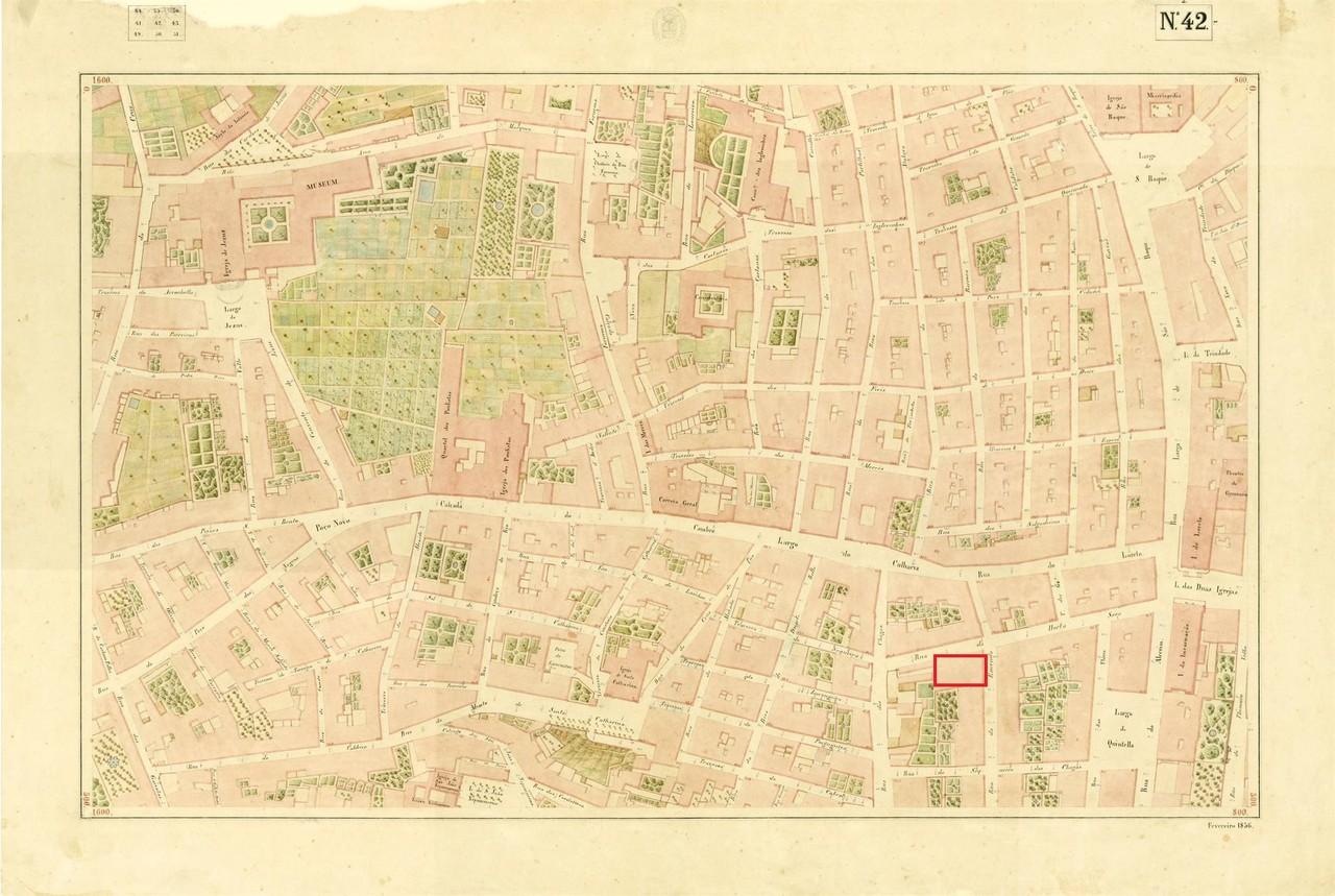 Atlas da carta topográfica de Lisboa, Nº 42, de