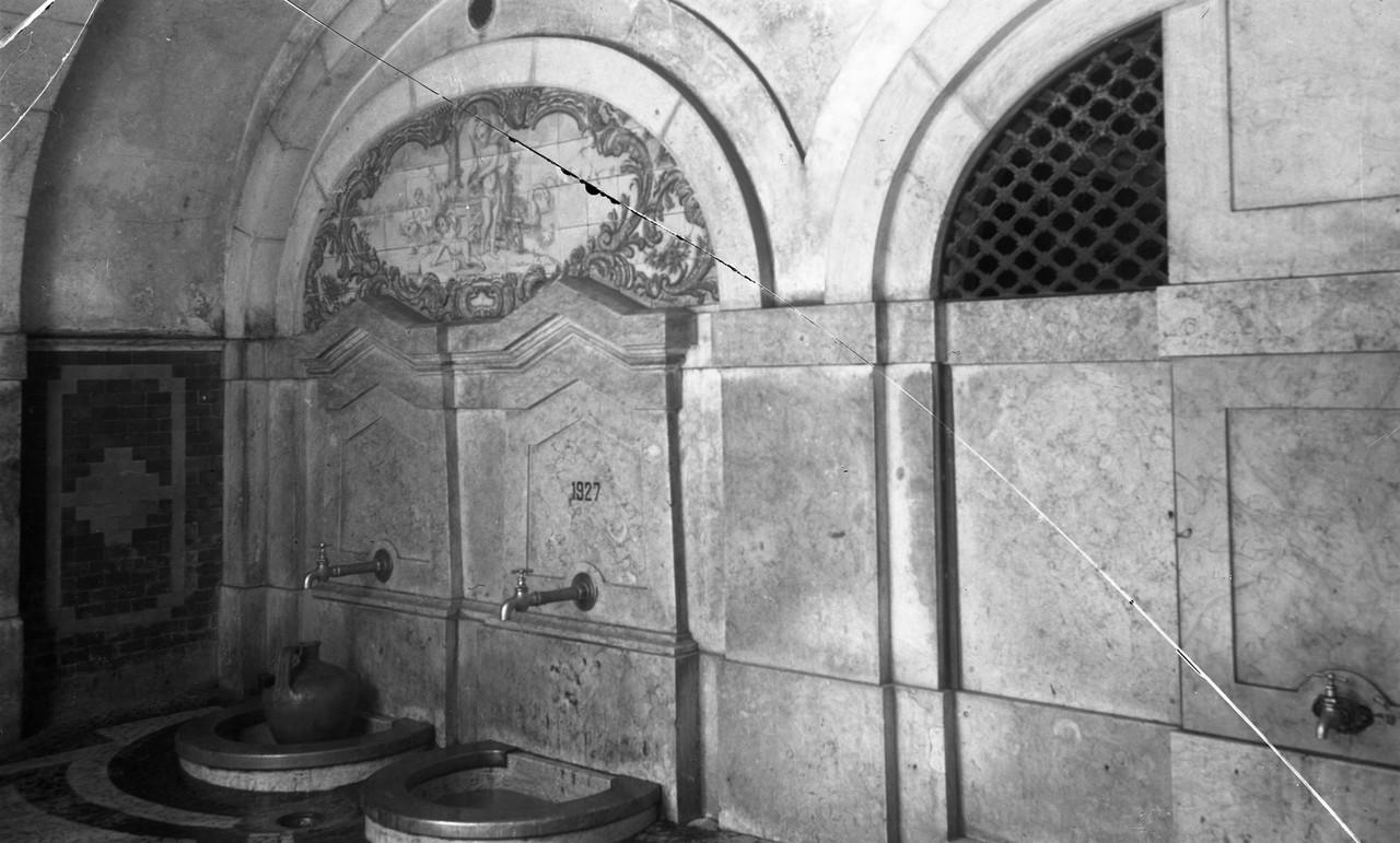 Chafariz do Poço do Borratém, 1951, foto de Edua