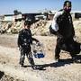 Deslocados da aldeia de Gogjali, Iraque
