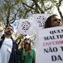 PORTUGAL PROTESTO ENFERMEIROS