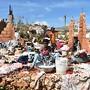 Efeitos do furacão Matthew em Casanette, Haiti