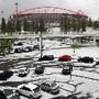 Estádio da Luz coberta de granizo_Foto_EPA_INACIO
